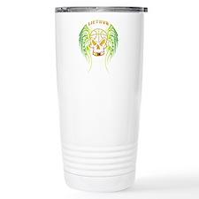 LT Basketball Tribal Skull Travel Mug