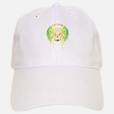 LT Basketball Tribal Skull Baseball Baseball Cap