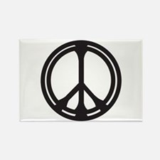 Unique Peace pins Rectangle Magnet