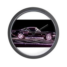Cute Neon ford Wall Clock
