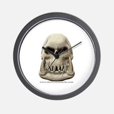 Orc Skull Wall Clock
