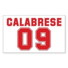 CALABRESE 09 Rectangle Decal