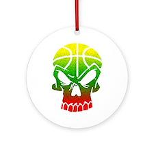 LT Skull Baller Ornament (Round)