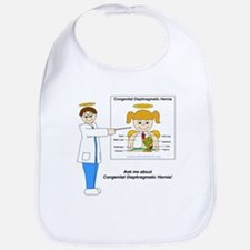 """Ask me about Congenital Diaphragmatic Hernia"" Bib"