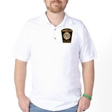 American Police Veterans Patc T-Shirt