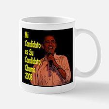 Mi Candidato Obama Mug
