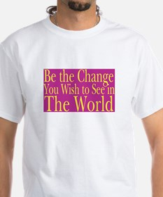 Be the Change (bright) Shirt