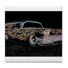 Cool Low car Tile Coaster