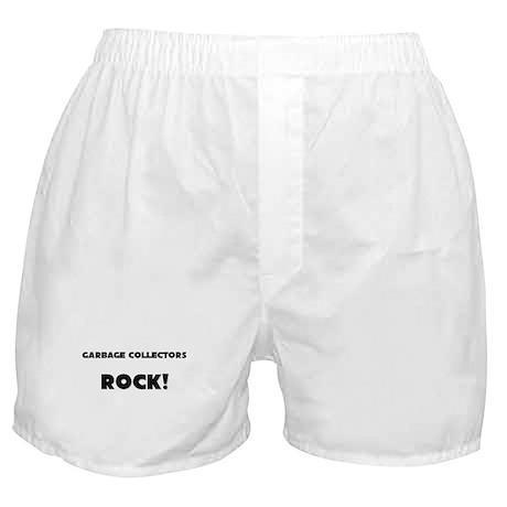 Garbage Collectors ROCK Boxer Shorts