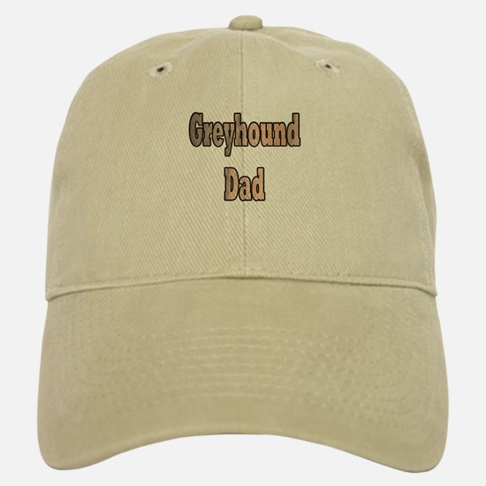 GREYHOUND DAD IN BRINDLE Baseball Baseball Cap