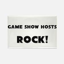 Game Show Hosts ROCK Rectangle Magnet