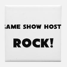 Game Show Hosts ROCK Tile Coaster