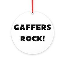 Gaffers ROCK Ornament (Round)