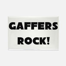 Gaffers ROCK Rectangle Magnet