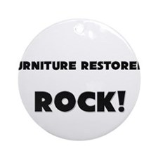 Furniture Restorers ROCK Ornament (Round)