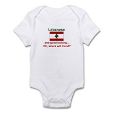 Good Looking Lebanese Infant Bodysuit
