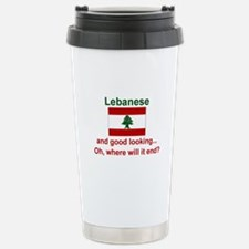 Good Looking Lebanese Travel Mug