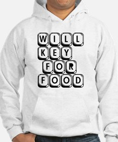 Will Key for Food Hoodie