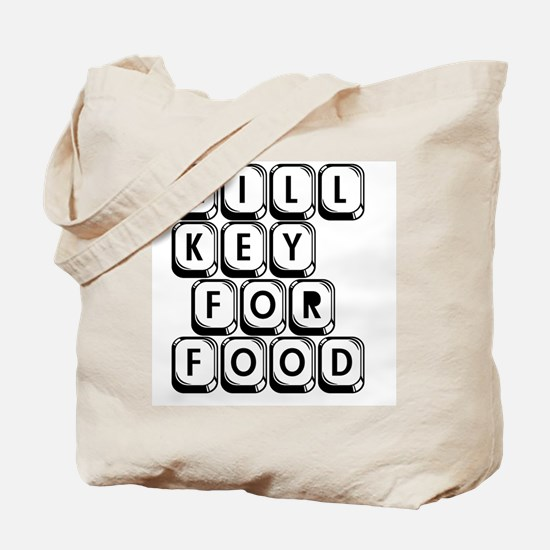 Will Key for Food Tote Bag