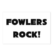 Fowlers ROCK Postcards (Package of 8)