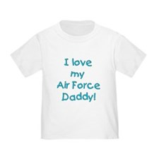 Air Force Daddy toddler t-shirt