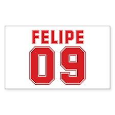 FELIPE 09 Rectangle Decal