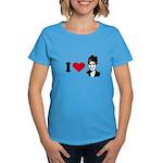 I Love Sarah Palin Women's Dark T-Shirt