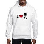 I Love Sarah Palin Hooded Sweatshirt