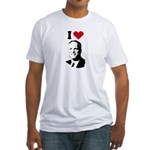 I Love McCain Fitted T-Shirt