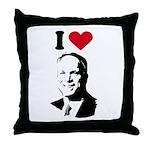 I Love McCain Throw Pillow