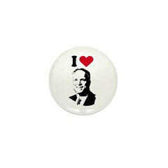 I Love McCain Mini Button (100 pack)