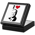 I Love McCain Keepsake Box