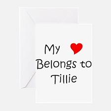 Tillie Greeting Cards (Pk of 10)