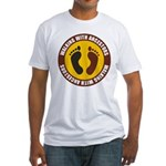 Walking With Ancestors Fitted T-Shirt