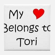 Cool Tori Tile Coaster