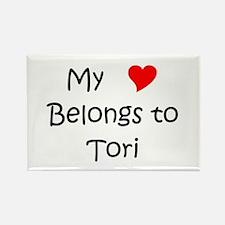 Funny Tori Rectangle Magnet