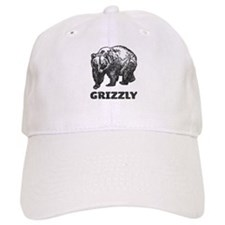 Vintage Grizzly Baseball Cap