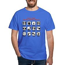 Vampire Abilities Dark T-Shirt
