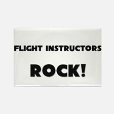 Flight Technicians ROCK Rectangle Magnet