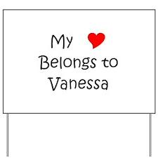 Vanessa Yard Sign