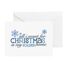 all i want Greeting Cards (Pk of 10)