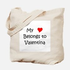 Unique Valentina Tote Bag