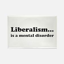 Liberalism Rectangle Magnet