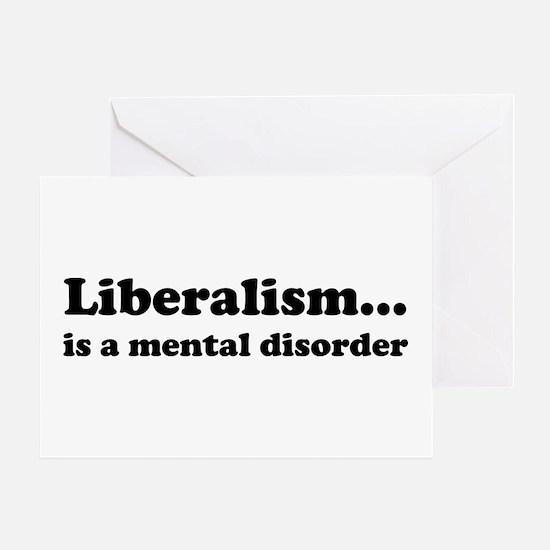 Liberalism Greeting Card