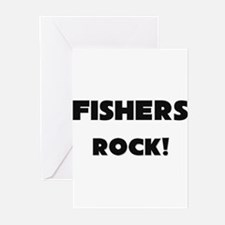 Fisheries Officers ROCK Greeting Cards (Pk of 10)