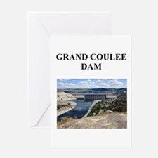grand coulee dam gifts and t- Greeting Card