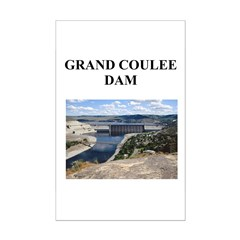 grand coulee dam gifts and t- Posters