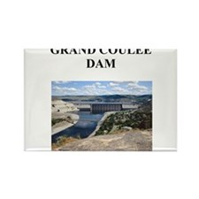 grand coulee dam gifts and t- Rectangle Magnet
