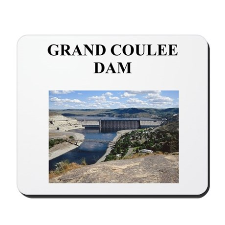 grand coulee dam gifts and t- Mousepad