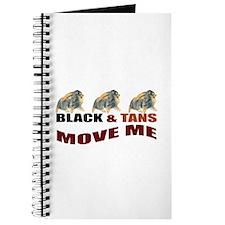 Blk&Tans Move Me Journal
